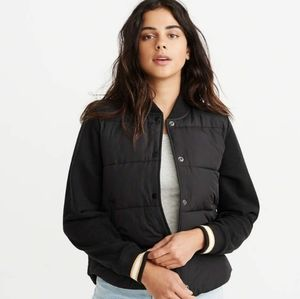 Abercrombie bomber twofer jacket